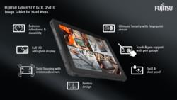 Infographic FUJITSU Tablet STYLISTIC Q5010