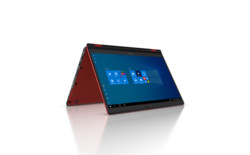 FUJITSU Tablet LIFEBOOK U9310X RED - Folded - Windows 10 screen