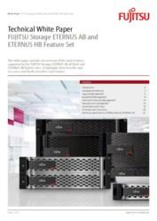 TWP FUJITSU Storage ETERNUS AB and ETERNUS HB Feature Set