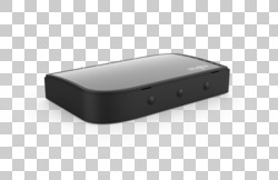 FUJITSU Accessory USB-C Hub 4 Ports - rear, covered interfaces