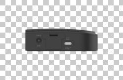 FUJITSU Accessory USB-C Hub 4 Ports - side view interfaces