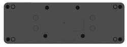 USB Type-C Port Replicator 2 Bottom View