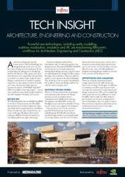 Brochure - Tech Insights - AEC Vertical (FUJITSU Workstation CELSIUS)
