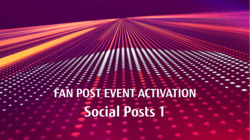 ActivateNow Post-event: Social Posts to promote best of FAN on-demand