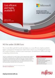 Flyer: 2-node Microsoft HCI bundle