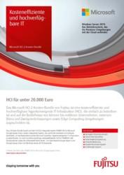 Flyer: Microsoft HCI 2-Knoten-Bundle DE