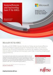 Flyer: Microsoft HCI ROBO 2-Knoten-Bundle DE