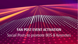 ActivateNow Post-event: Social Posts to promote BOS and Keynotes