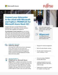 Brochure: PRIMEFLEX for Microsoft Azure Stack HCI