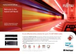 FUJITSU Integrated System PRIMEFLEX for SAP HANA with NetApp