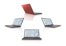 FUJITSU Notebook LIFEBOOK U9311 red - Full Turntable Picture Set - 360°