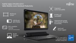 Infographic: FUJITSU Tablet STYLISTIC Q7311 - Intel Version