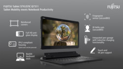 Infographic: FUJITSU Tablet STYLISTIC Q7311