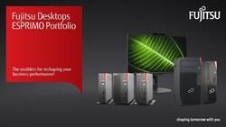 FUJITSU Desktop ESPRIMO Family Brochure