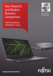 FUJITSU Notebook LIFEBOOK E5 Family Brochure