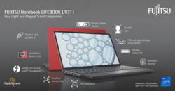 Notebook LIFEBOOK U9311 Feature Banner