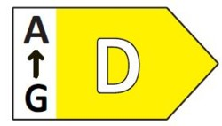 EU Energy Label D