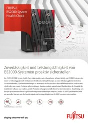 FUJITSU BS2000 System Health Check, D