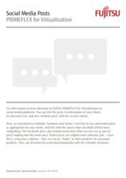 Social Media Posts: PRIMEFLEX for Virtualization