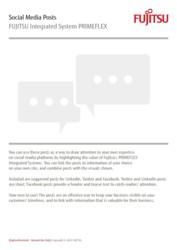 Social Media Package: PRIMEFLEX Integrated Systems