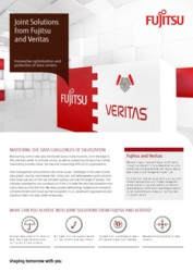 Joint Solutions from Fujitsu and Veritas