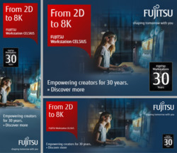CELSIUS Workstations - 30 Years Promotions - Online Banner Pack - Media & Entertainment (neutral)
