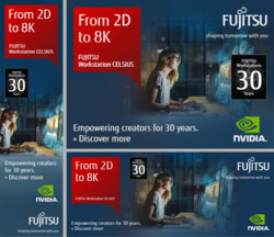 CELSIUS Workstations - 30 Years Promotions - Online Banner Pack - Media & Entertainment (NVIDIA)