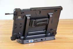 STYLISTIC Q7311 in Bump Case with Cradle - Back View