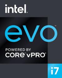 Intel 11th evo i7 vPro Platform Logo