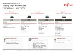 Positioning Card: LIFEBOOK Notebooks