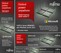 FUJITSU Server PRIMERGY plus Windows Server 2022 (static banner pack)